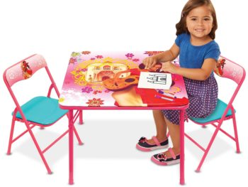 folding table and chairs for kids